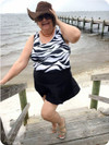 Bahama Mama Peplum Tankini