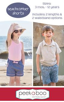 Beachcomber Shorts sewing pattern