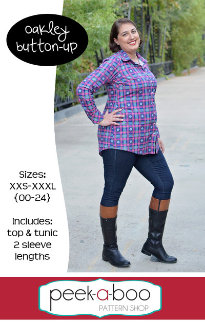 Oakley Button-Up sewing pattern