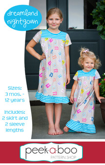 Dreamland Nightgown Sewing Pattern