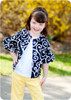 Girls Jacket with Bell Sleeves PDF Sewing Pattern