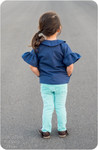 Girls Jacket with Pockets PDF Sewing Pattern
