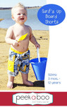 Surf's Up Board Shorts PDF Sewing Pattern