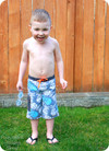 Toddler Board Shorts PDF Sewing Pattern