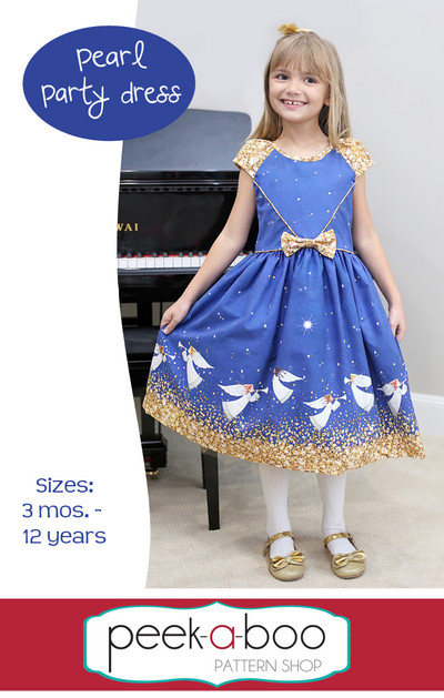 Pearl Party Dress Sewing Pattern
