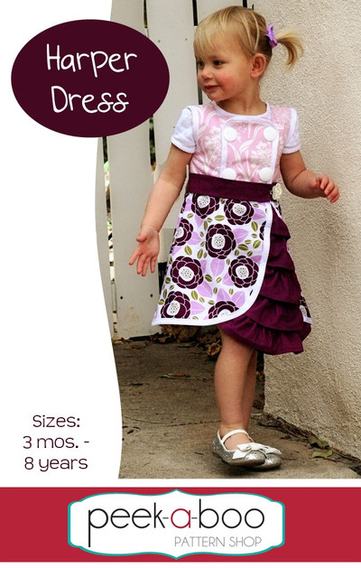 Harper Dress PDF Sewing Pattern