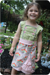 Girls Dress PDF Sewing Pattern