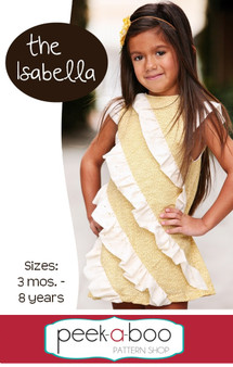 Isabella Dress PDF Sewing Pattern