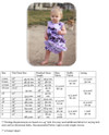 Isabella Dress Size Chart & Materials List