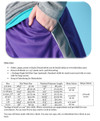 Hang Time Basketball Shorts Size Chart & Materials List