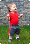 Baby Basketball Shorts Sewing Pattern