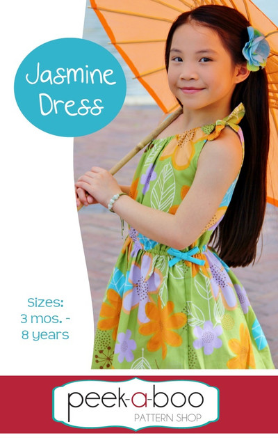 Jasmine Dress PDF Sewing Pattern