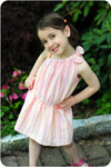 Toddler One Shoulder Dress Pattern