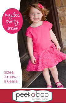 Kaylee Party Dress PDF Sewing Pattern