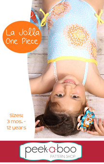 La Jolla One-Piece Swimsuit PDF Sewing Pattern