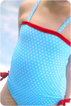 Girls One-piece Swimsuit Sewing Pattern