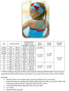 La Jolla Swimsuit Size Chart & Materials List