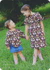 Girls Peasant Dress PDF Sewing Pattern