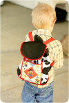 Toddler Backpack PDF Sewing Pattern
