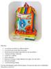 Lil' Adventurer Backpack Size Chart & Materials List
