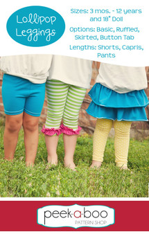 Lollipop Leggings PDF Sewing Pattern