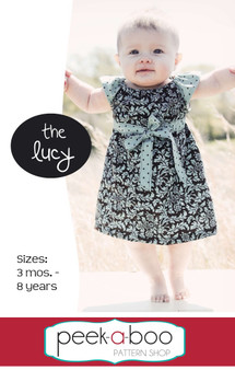 Lucy Dress PDF Sewing Pattern