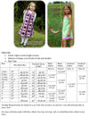 Madison Dress Size Chart & Materials List