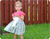 Toddler Dress Sewing Pattern
