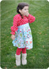 Girl's Peasant Dress PDF Sewing Pattern