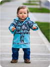 Boy's rain coat pdf sewing pattern