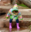 Girl's Raincoat PDF Sewing Pattern
