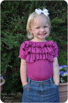 Ruffled Shirt PDF Sewing Pattern