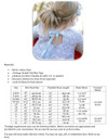 Sabrina Shirttail Dress Sizing Chart