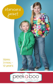 Starboard Jacket PDF Sewing Pattern