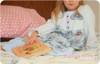 girl's nightgown pdf sewing pattern