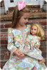 Doll Night Gown PDF Sewing Pattern