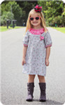 Free Dress PDF Sewing Pattern