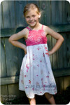 Girls Nightgown Sewing Pattern