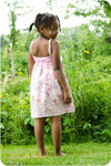 Girls Nightie Sewing Pattern
