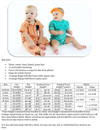 Pat-a-Cake Romper Size Chart & Materials List
