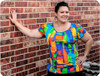 Plus Size t-shirt sewing pattern
