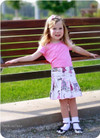 Toddler skirt sewing pattern