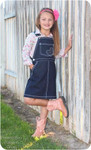Tween Overalls Jumper Sewing Pattern