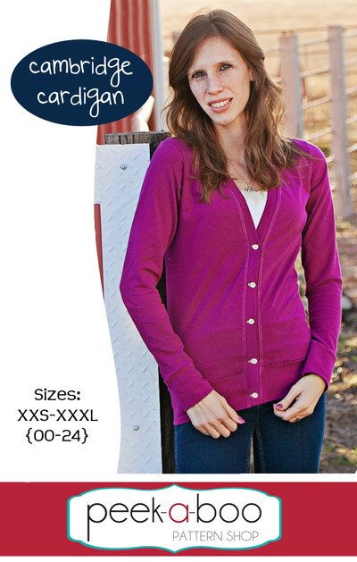 Cambridge Cardigan Sewing Pattern