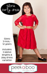Gloria Party Dress Sewing Pattern