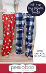 Hit the Hay Pajama Pants Sewing Pattern