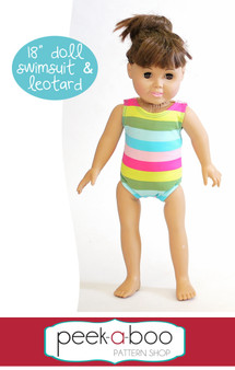 "18"" Doll Swimsuit & Leotard"