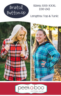 Bristol Button-Up Sewing pattern