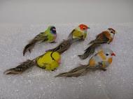 """BIRD 3.5""""FEATHERED ASST 1DZ #4443"""