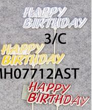PICK HAPPY BIRTHDAY 2DZ # 7712